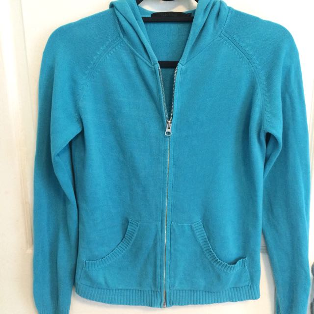Folded&Hung Candy Blue Hoody Jacket
