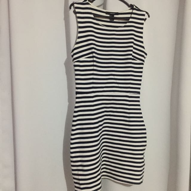 Forever21 Stripped Bodycon Dress