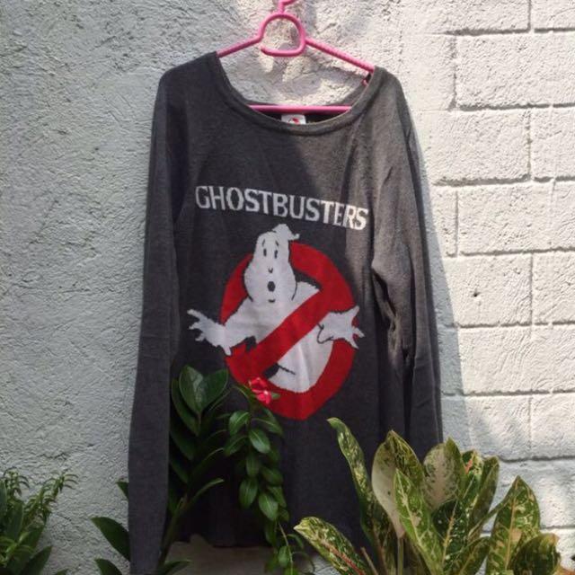 Ghost Busters Knitterd Sweater