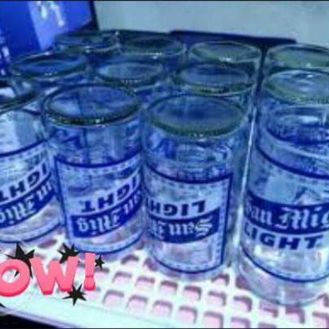Glass of liquor nd softdrinks 5pcs 350