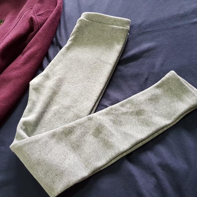 Grey Soft Warmer Leggings