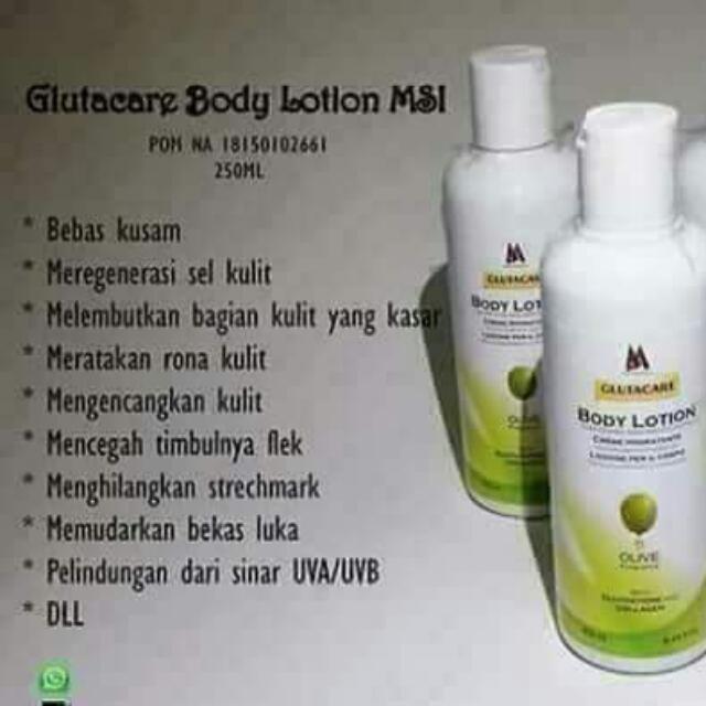 Handbody Glutacare MSI
