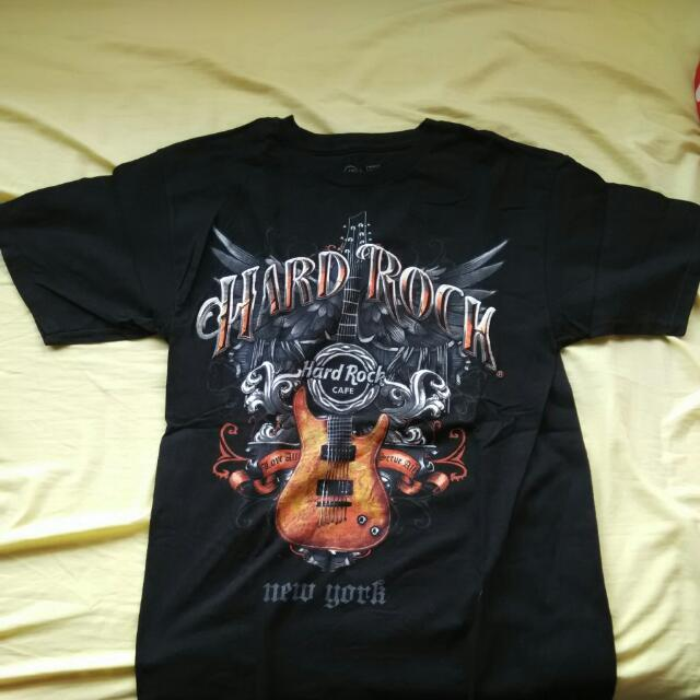 Hard Rock Cafe New York Black T Shirt Size M 2a26f87f10b