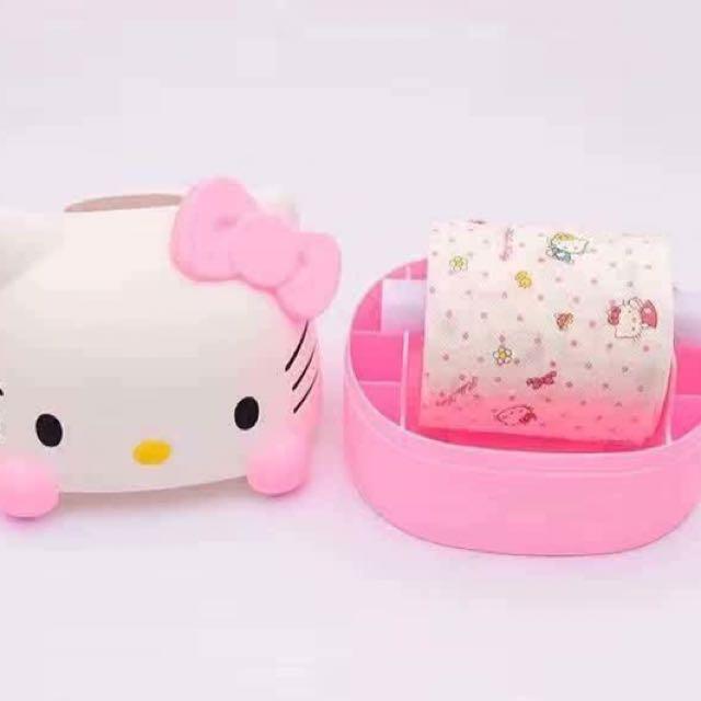 Hello Kitty Tissue Roll Holder