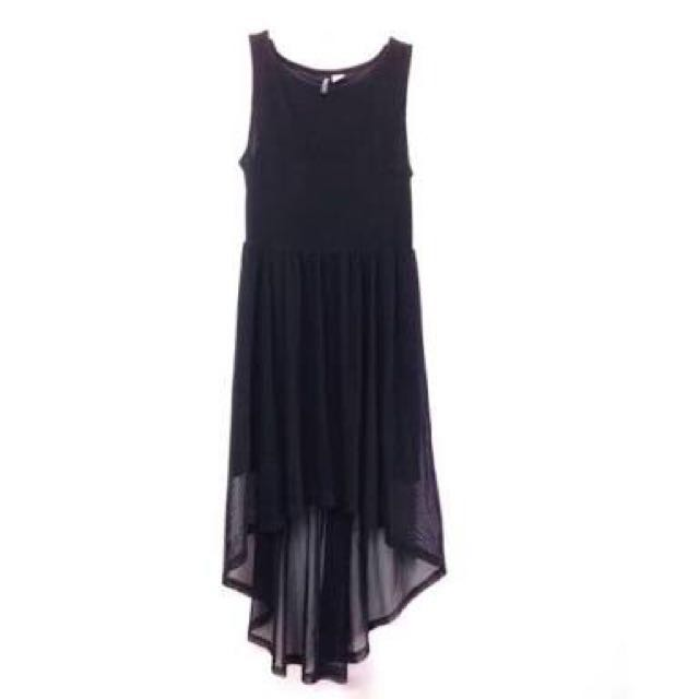 H&m High Low Sheer Dress