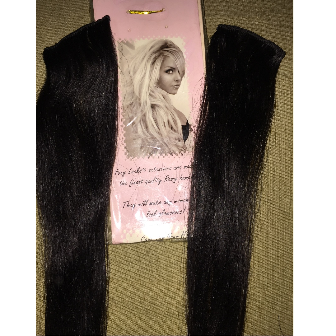 Human Remy Hair Extensions Foxylocks High Quality Clip In 10 Pieces