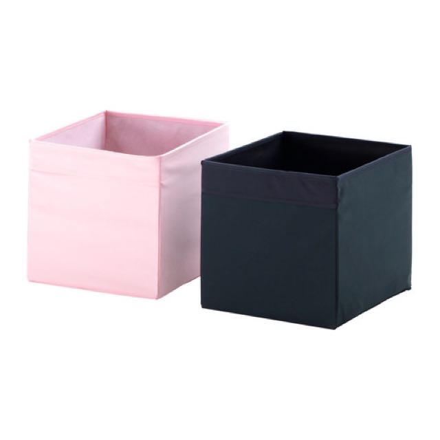 Ikea Drona Light Pink Storage Box Furniture Shelves Drawers On Carou