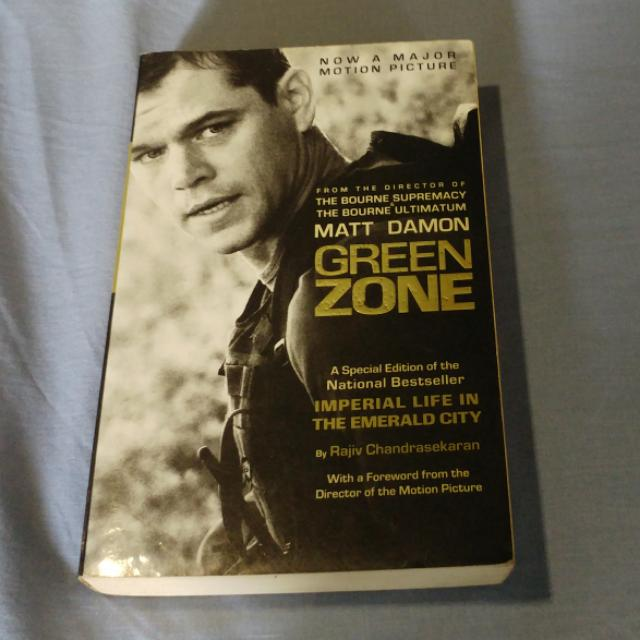 Imperial Life In The Emerald City (Green Zone) By Rajiv Chandrasekaran