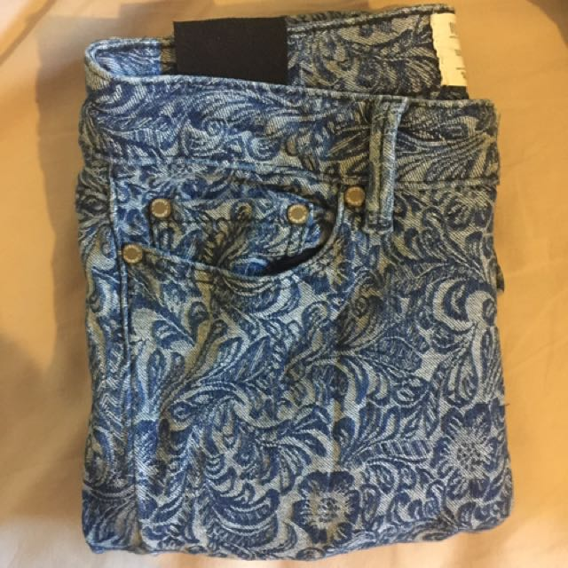 Insight Patterned Jeans