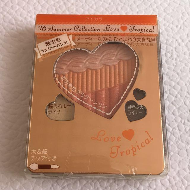 全新👍🏻INTEGRATE 裸光深眸眼影盒#OR366 香甜橙酒📢限量絕版品😎要搶要快💪🏻 橘