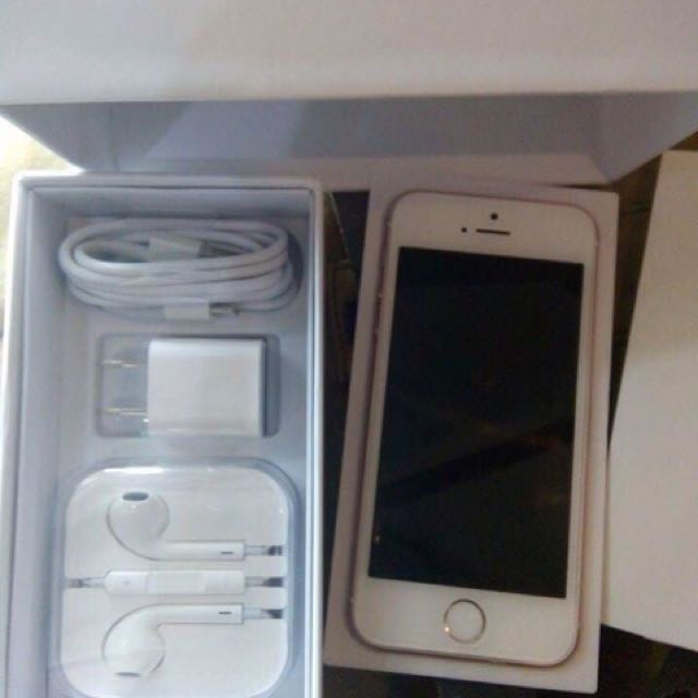 iPhone 5s (Rosegold) • 16gb