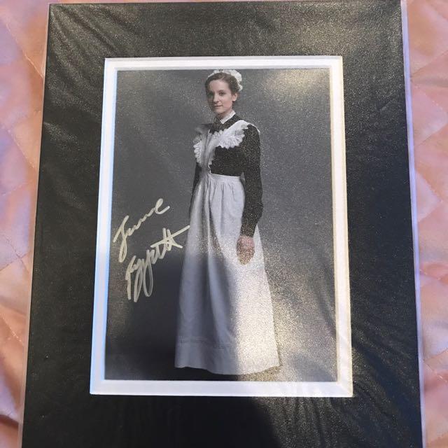 Joanne Froggatt Autograph (downton Abbey)