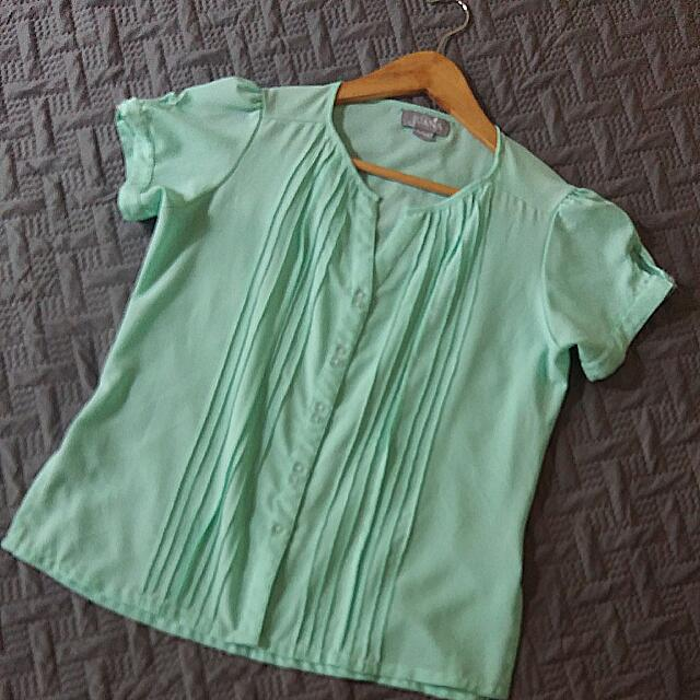 Juana Mint Green Top