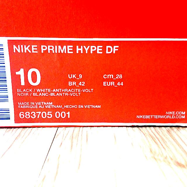 Kasut Nike Prime Hype DF Original Nike Basketball Shoes Original. Nike High  Cut Original Boutique., Men\u0027s Fashion, Footwear on Carousell