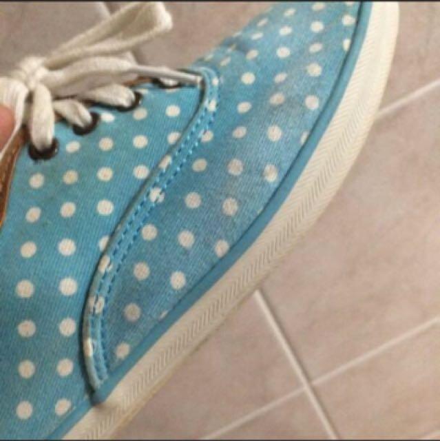 Kids 帆布鞋 24號