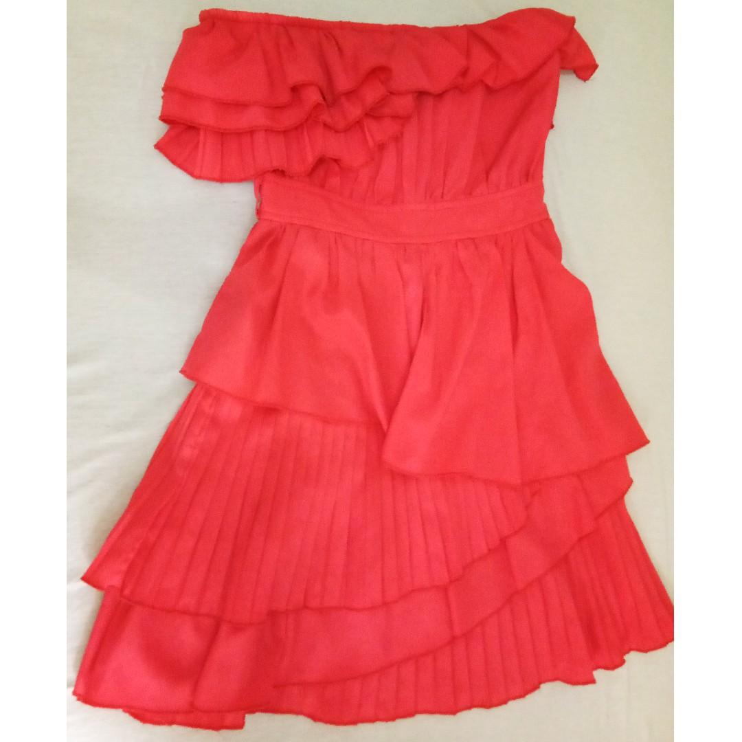 Layered mini dress by Chicabooti