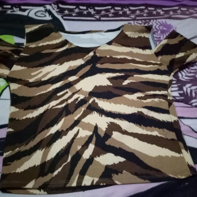 Leopard Blouse