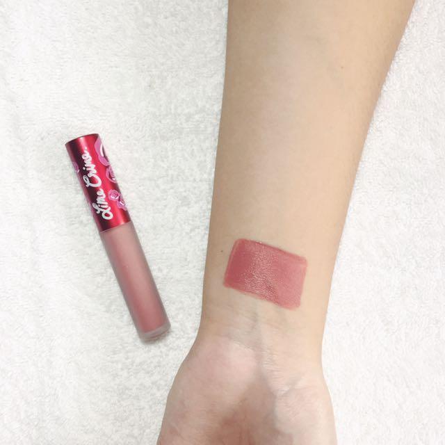 Lime Crime Liquid Lipstick (Riot)
