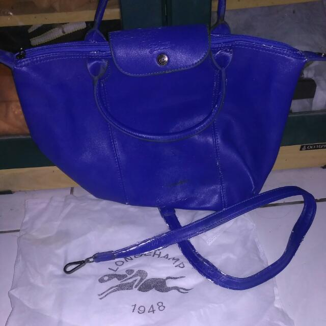Longchamp biru