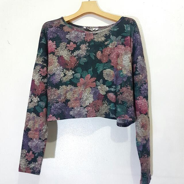 Look Floral Crop Top