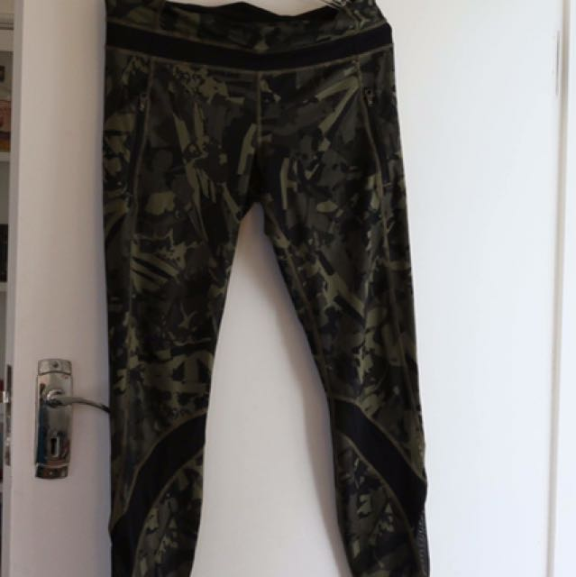 lululemon Camouflage Tights