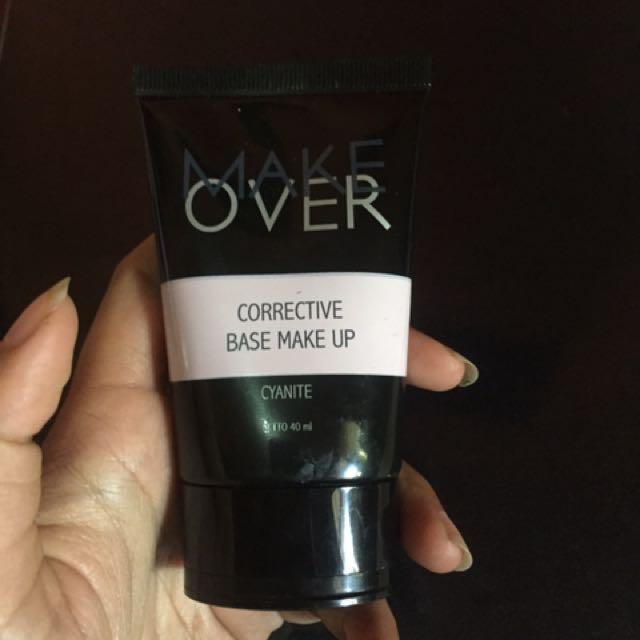 Make over corrective Base Makeup Cyanite (Primer), Health & Beauty, Makeup on Carousell