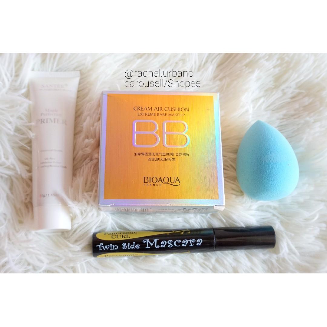 Makeup Bundle/set (bb cushion, mascara, primer)