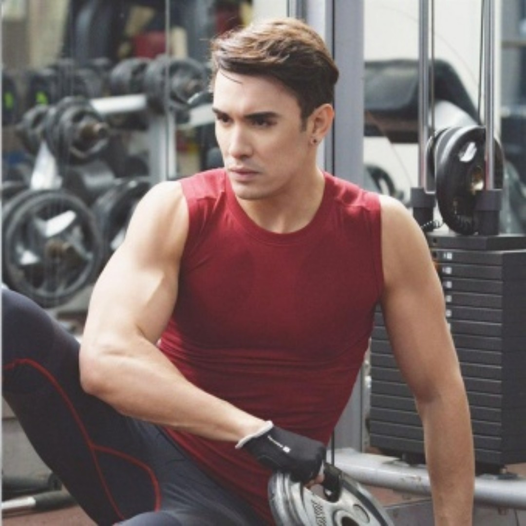 men fitness gym vest body shaper sleeveless super save 34 mens fashion clothes on carousell