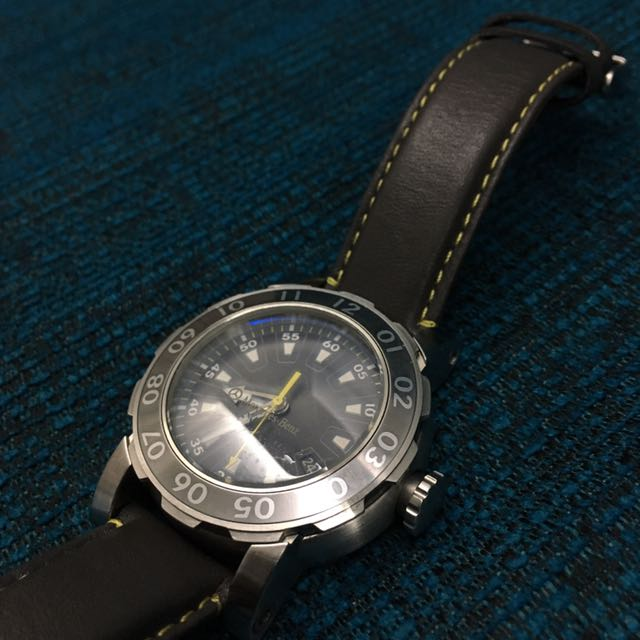 mercedes-benz wrist watch, men's fashion, watches on carousell