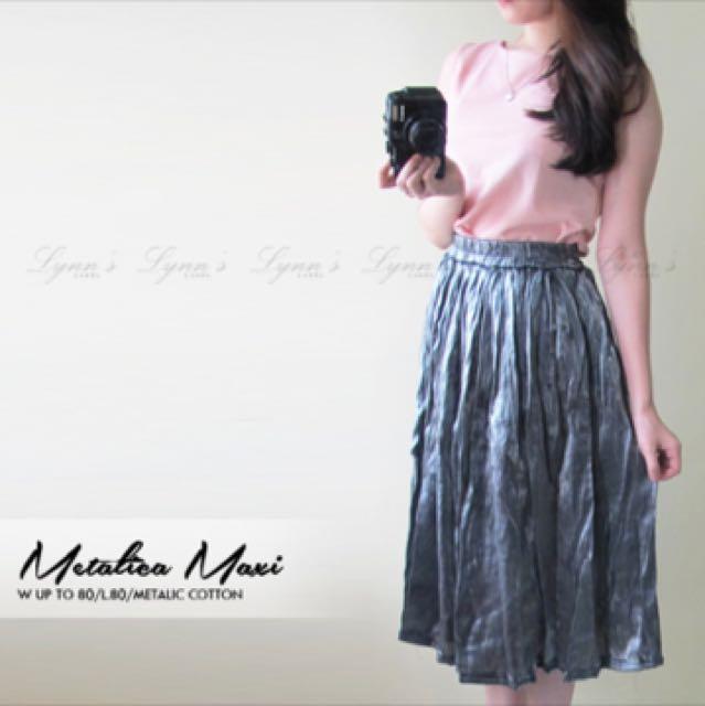 Metalic Skirt
