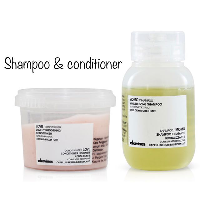 Mini Momo Shampoo & Conditioner