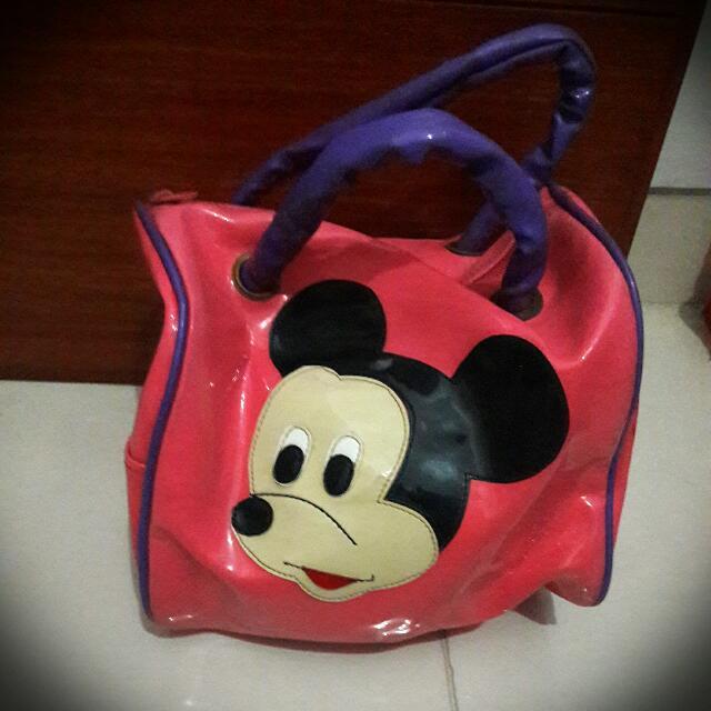 Mini Handbag Anak Mickey Mouse