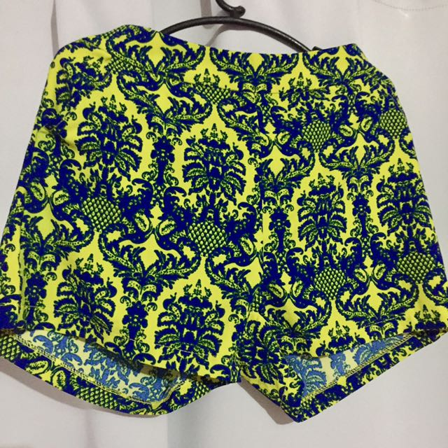 Neon Colored High Waisted Shorts