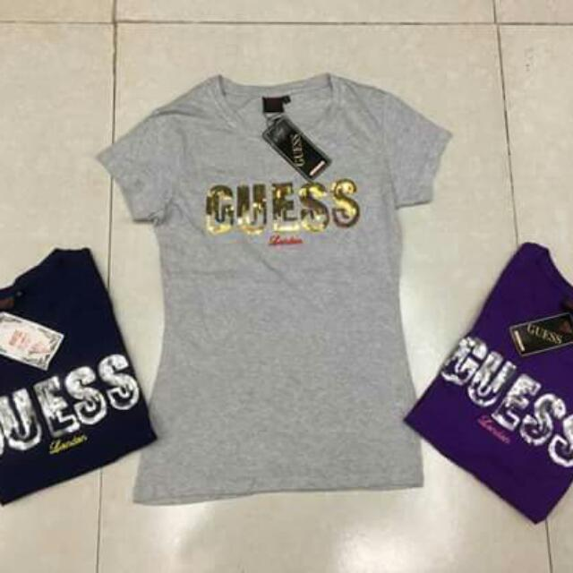 #New arrivals #Guess sequence  Ladies  Branded  Overruns Made in Bangladesh  Size: S M L XL
