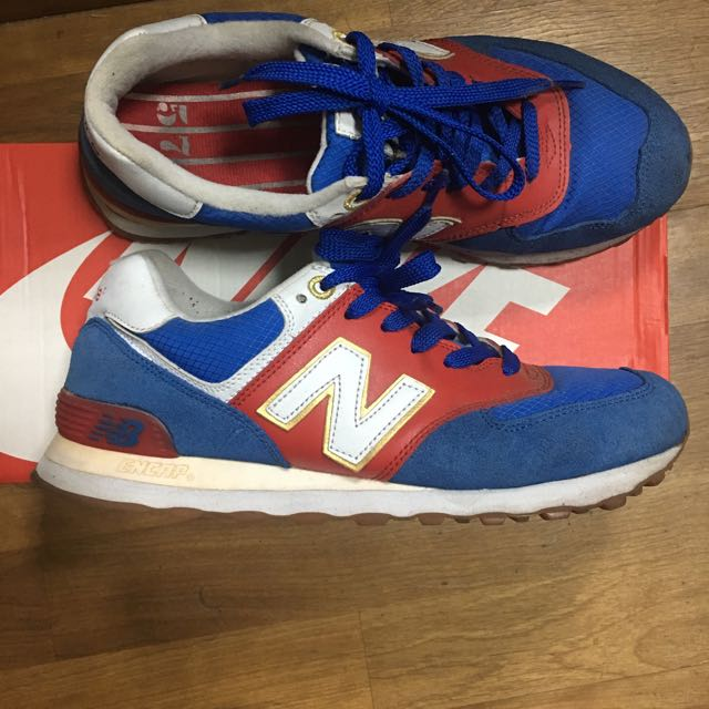New Balance 574 奧運配色 走路鞋 慢跑鞋 休閒鞋