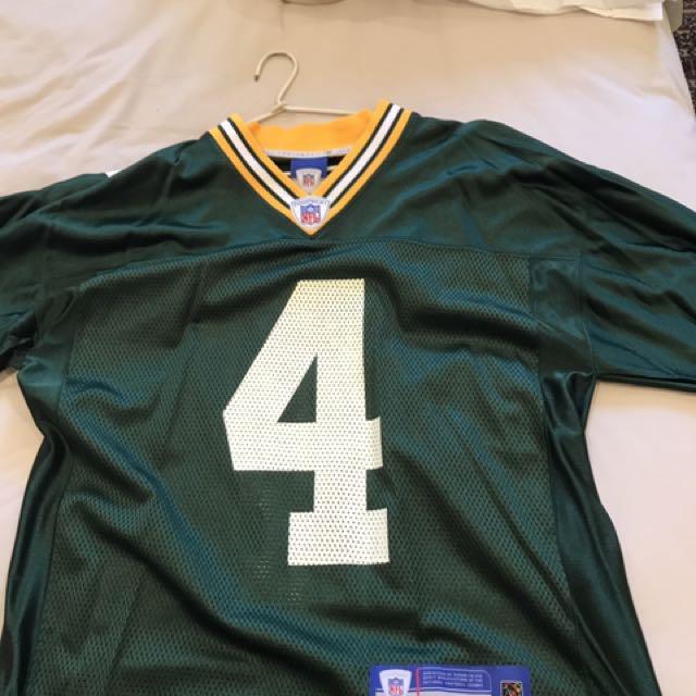 NFL Green Bay Packers Jersey Brett Fabre