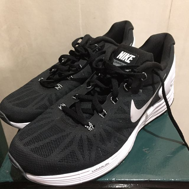 Nike Lunarlon Black Rubber Shoes