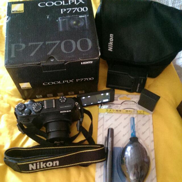 Nikon類單眼P7700螢幕可翻轉相機