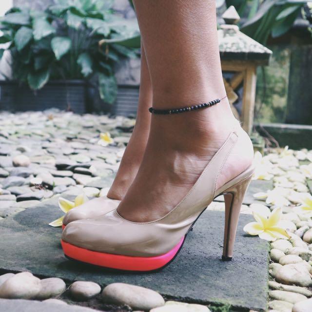 Nude Neon Heels