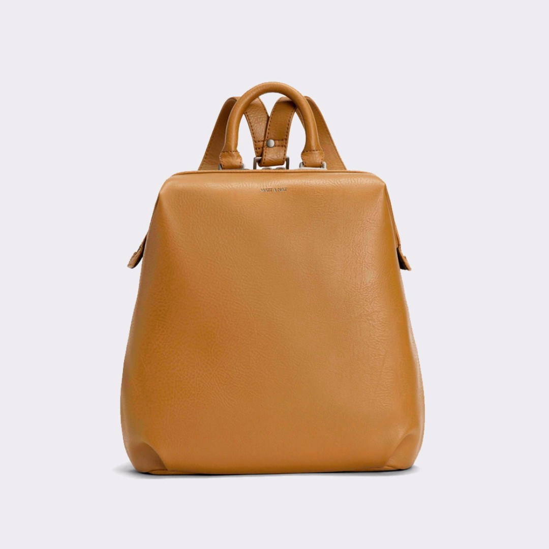 NWT Matt and Nat Vignelli Backpack - Curry/Brown