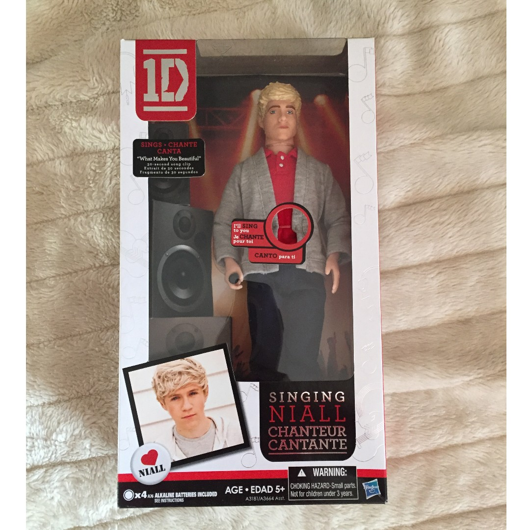 One Direction Niall Horan singing doll