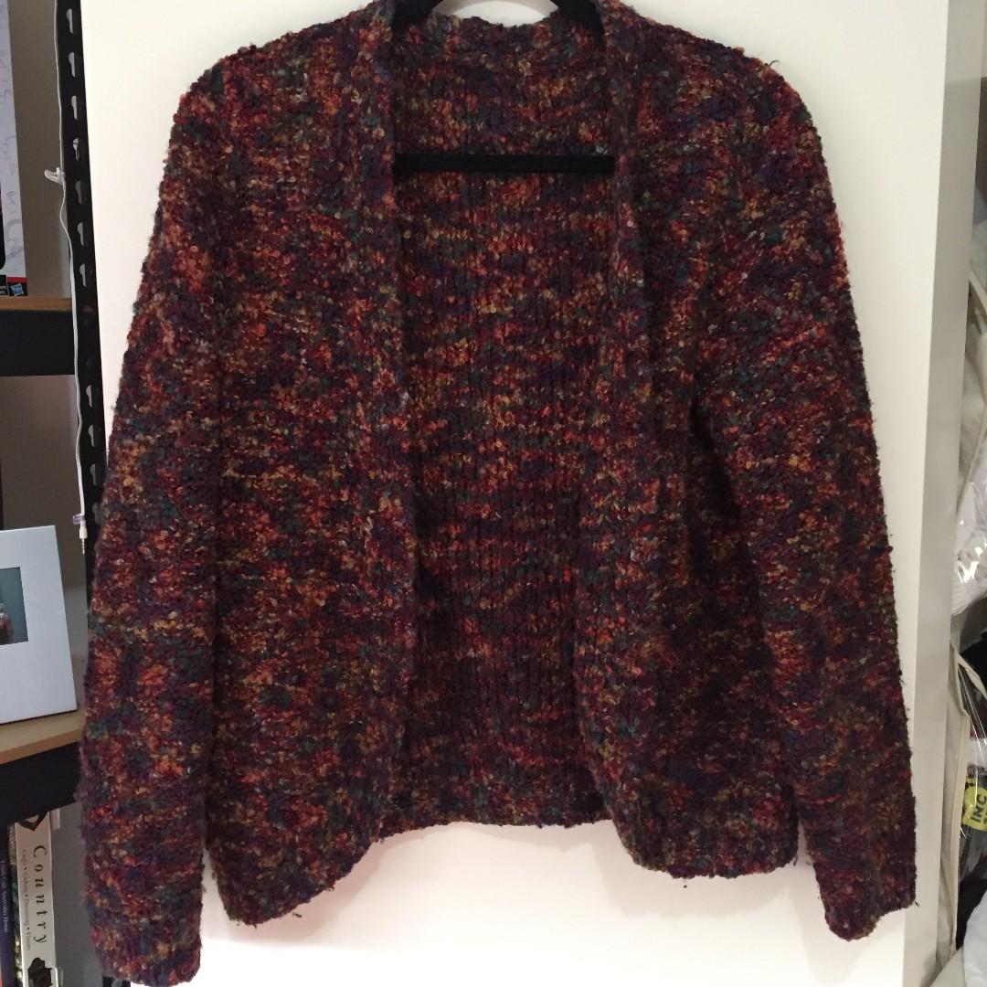 Oversized Vintage woollen jumper