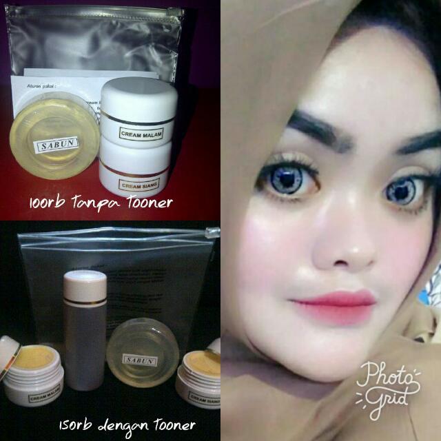 Owner Using Cream Whitenning And Glowing Racikan Apoteker Bdg