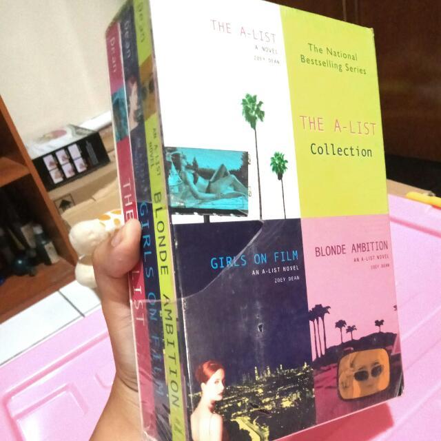 Paket Buku Zoey Dean