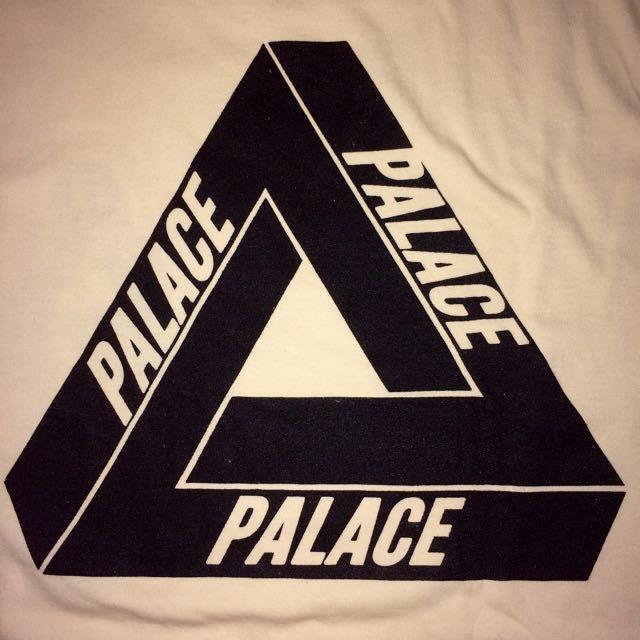 Palace Palace Palace Cream White Shirt