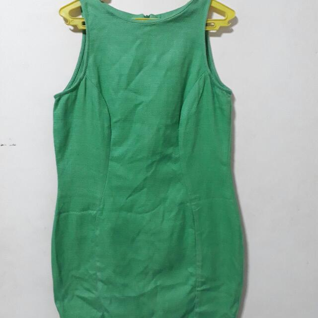 Philosophy Green Sleeveless Dress