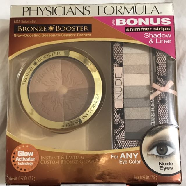 Physicians Formula Bronze Booster with Eyeshadow Set 2