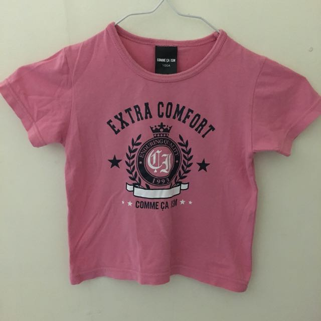 Pink Baby's Tee