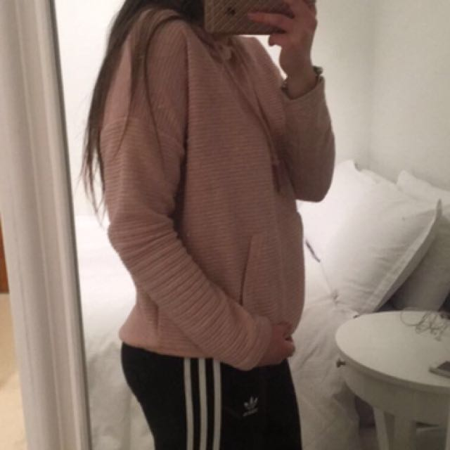 Pink Hoodie From Factory