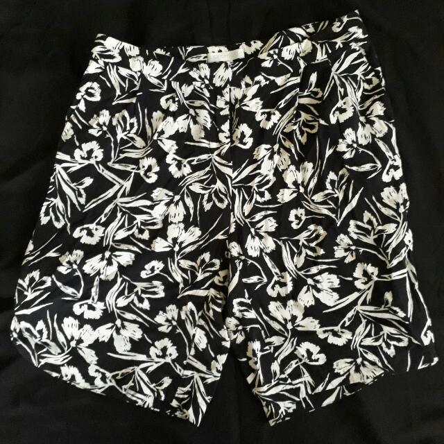 Promod Floral Shorts